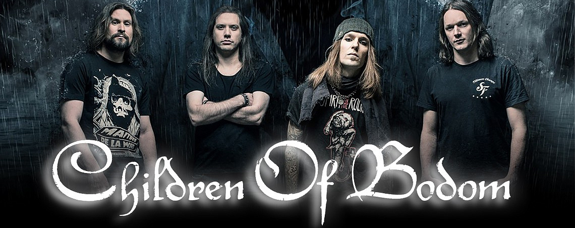 Атрибутика Children Of Bodom в Castle Rock
